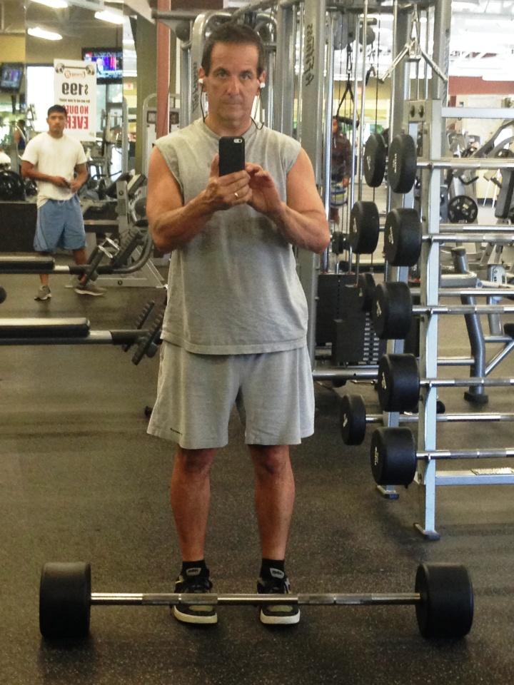! Gym selfie_June 2014